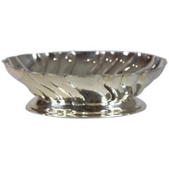 Large Silver Bowl, Germany, 835/- Silver, Handcrafted