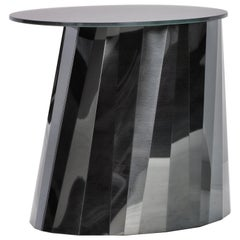 ClassiCon Pli Low Side Table in Black by Victoria Wilmotte