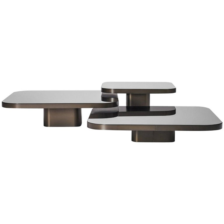 ClassiCon Set of 3 Bow Coffee Table by Guilherme Torres For Sale