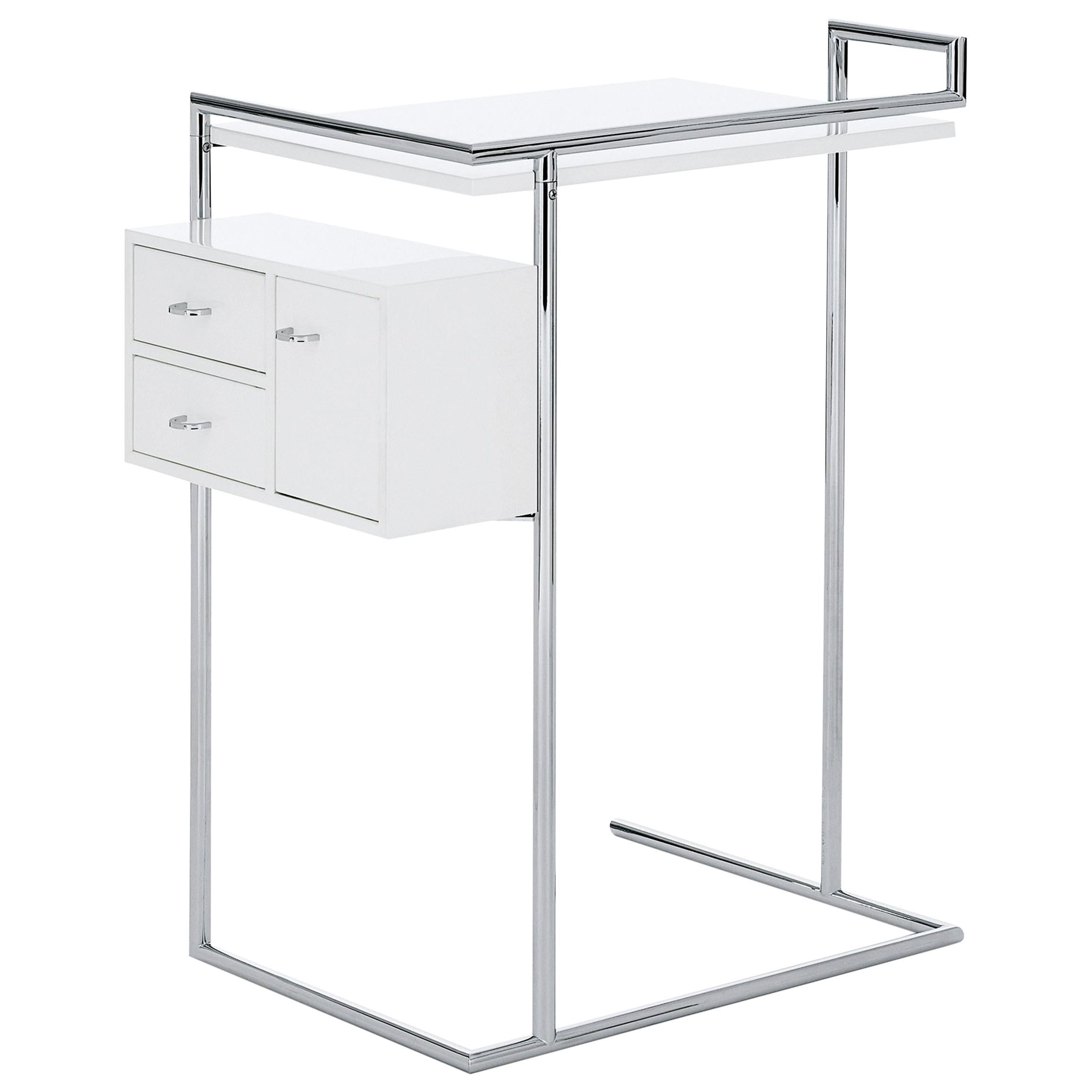 ClassiCon Petite Coiffeuse Table in White by Eileen Gray