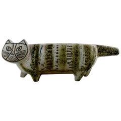 Lisa Larson for Gustavsberg, Large Stoneware Figure of Cat