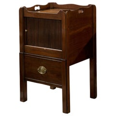 Mahogany Tambour Fronted Commode