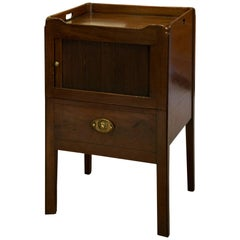 Georgian Tambour Fronted Commode