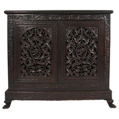 Pair of Anglo-Indian Cabinets, circa 1900