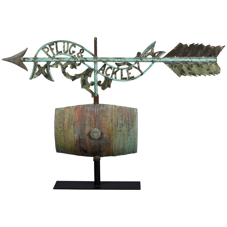 Distillery Weathervane from Long Island, circa 1880 For Sale