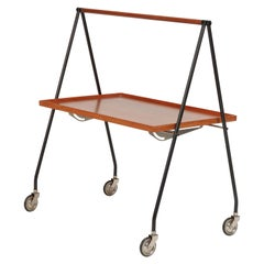 Folding Serving Trolley, Italy, 1960s