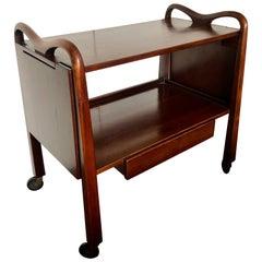 Edmond Spence Serving Cart for Industria Meublera