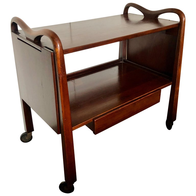 Edmond Spence Serving Cart for Industria Meublera For Sale