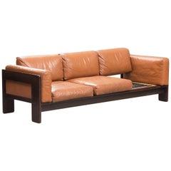 Afra & Tobia Scarpa Rosewood 'Bastiano' Sofa for Gavina