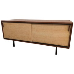 Dieter Waeckerlin Rosewood and Cane Sideboard