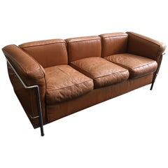 Le Corbusier for Cassina LC2 Sofa 2 AVAILABLE!!