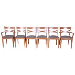 Heywood-Wakefield Mid-Century Modern Dining Chairs, Set of 6