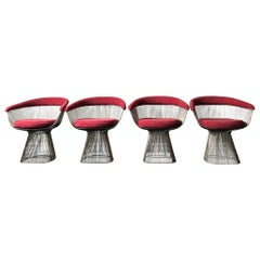 Warren Platner for Knoll Dining Chairs, 1960s, Set of 4
