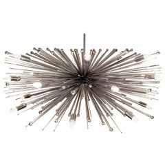 """Solar Flare"" Custom Made Chandelier"