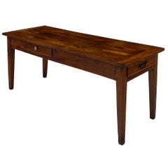 Walnut Early 19th Century Farm Table