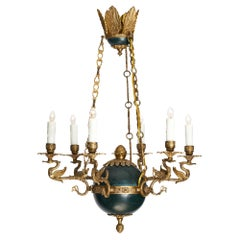 Empire French Swan Chandelier