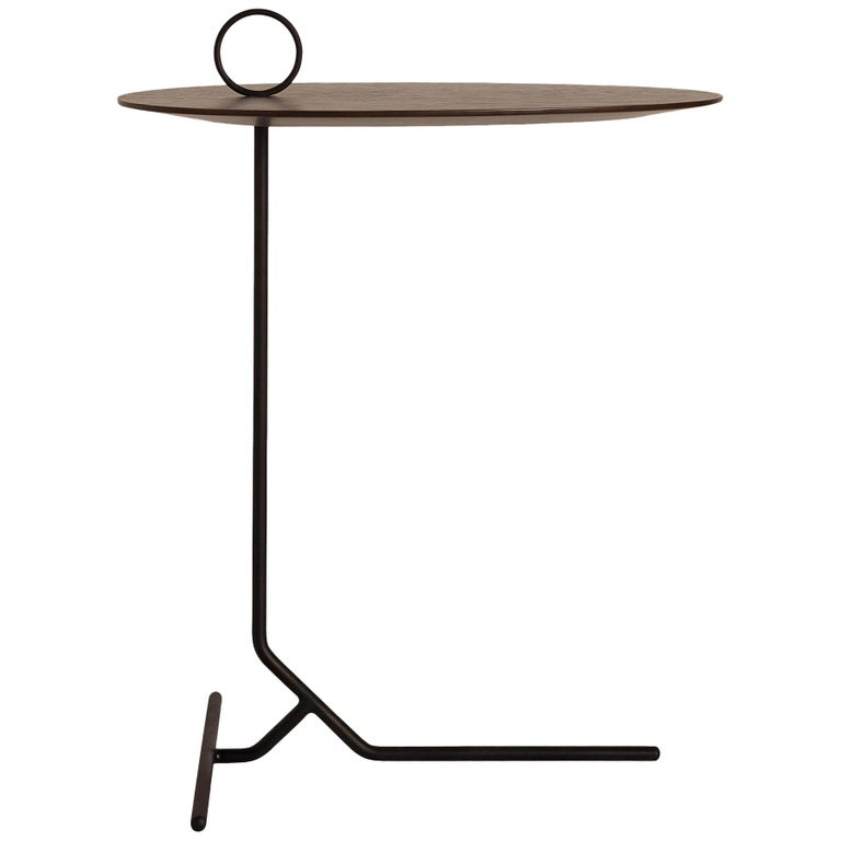 Asti Brass Side Table For Sale