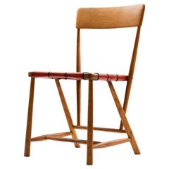 Wharton Esherick Ash Chair, Signed and Dated 1952