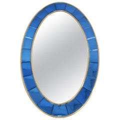 Cristal Art Blue Mirror