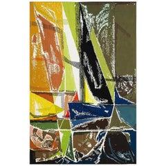 """Modern Tapestry Designed by Mathieu Matégot - """"Régates"""""""