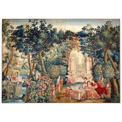Mid-17th Century Antique Tapestry from Brussels -Allegory of Spring