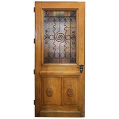 French Doors with Rosettes