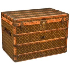 1930s Louis Vuitton Monogram Steamer Trunk