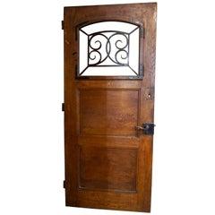 French Entry Door, circa 1880
