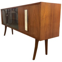 Midcentury Sideboard Hutch