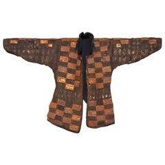 Edo Period Chain Mail Armor Jacket, Kusari or Karuta, Japan