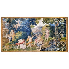 17th Century Antique Tapestry from Royal Manufacture of Mortlake, United Kingdom