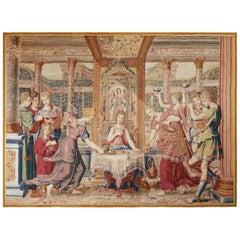 17th Century Antique Tapestry from Paris  - Le Repas de Psyché