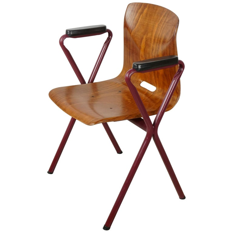 Industrial 1950s-1960s Pagholz Office Chair at 1stdibs