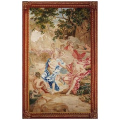 18th Century Antique Tapestry, Neptune et Amphitrite, after de Jan Van Orley
