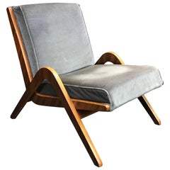 Midcentury Boomerang Chair by Neil Morris for Morris of Glasgow
