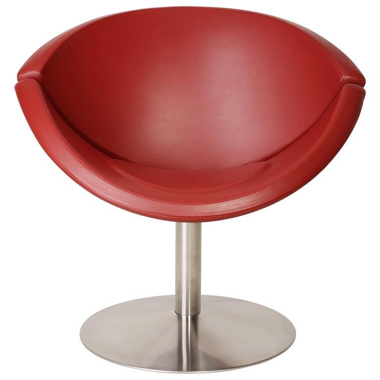 Leather Apollo Chair, Erik Jørgensen, 2000s, Denmark For Sale