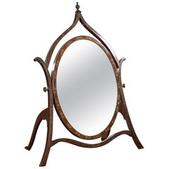 Late 19th Century Toilet Mirror