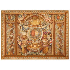 19th Century Antique Tapestry from Aubusson
