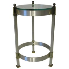 Side Table or Cigarette Table in the Style of Maison Jansen