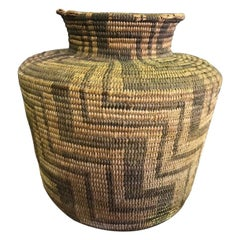 Native American Pima Tribe Hand Woven 19th Century Basket