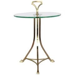 Midcentury Italian Geuridon Drink Table