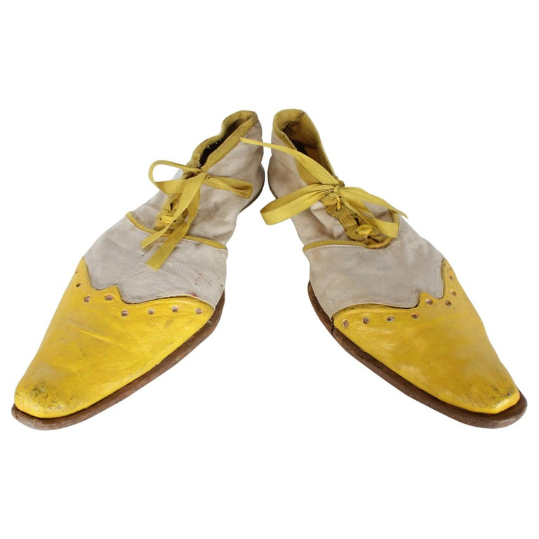 1950s Hand Made Clown Shoes For Sale
