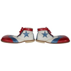 1950s Clown Leather Shoes