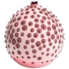 Handmade 21st Century Petri Bud Vase in Blush Pink by Elyse Graham