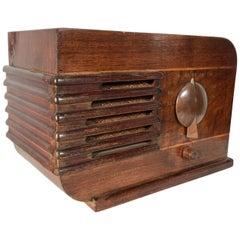 Art Deco Streamline Tabletop Radio by Stewart Warner