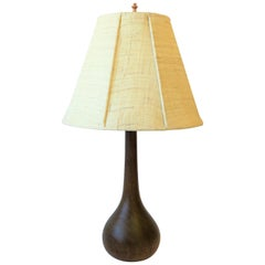 Scandinavian Modern Wood Lamp