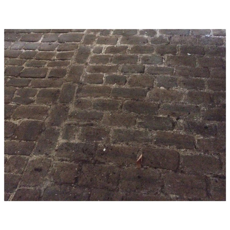 Authentic French Antique Cobble Stone from France, 17th Century For Sale