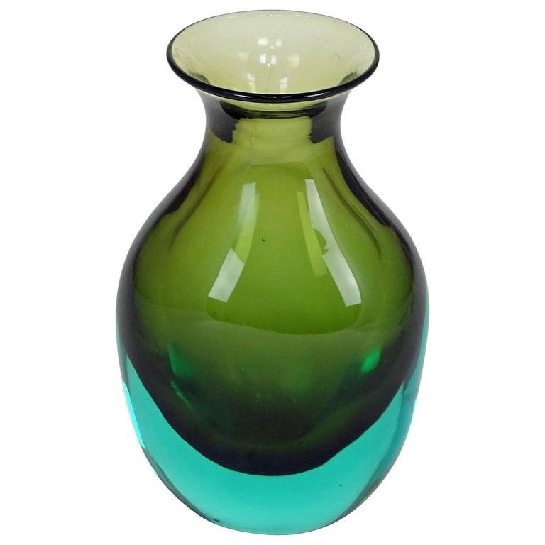 Antonio da Ros for Gino Cenedese Sommerso Vase, circa 1960 For Sale