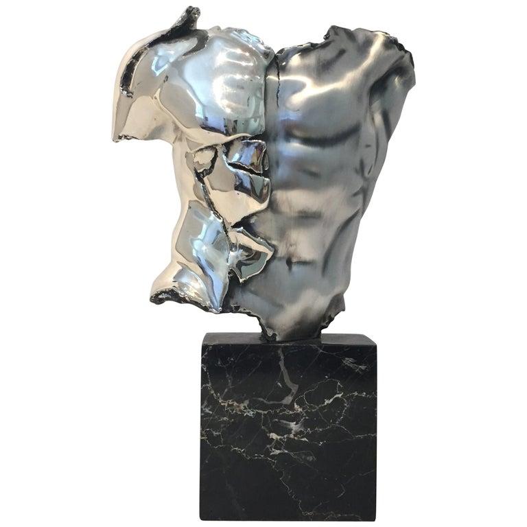 Male Torso Sculpture For Sale