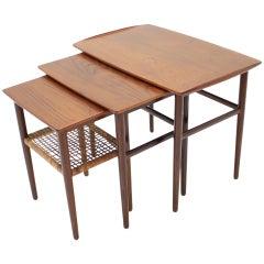 1960s Teak Nesting Tables, Denmark